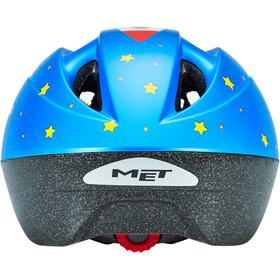 MET Buddy Fietshelm Kinderen, blauw/geel